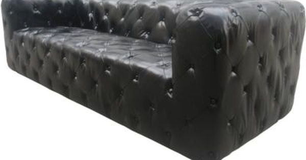 Sofa Broby 3 Sitzer In Anilin Leder Schwarz Plus De Online Shop 3 Sitzer Sofa Sofa