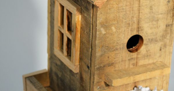 pallet bird house palettes en bois maison et oiseaux. Black Bedroom Furniture Sets. Home Design Ideas