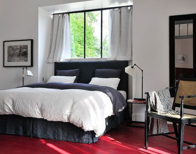 comment placer le lit dans une chambre rayures chambres et tete de. Black Bedroom Furniture Sets. Home Design Ideas