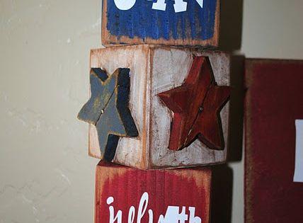 Cute! Fourth of July craft!!