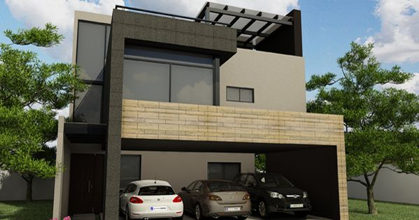 Arquitectura casa residencia fachada construccion for Diseno de construccion de casas