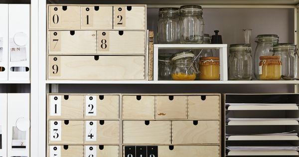 Moppe miniladekast ikea dagrommel ladekast opberger for Ikea ladeblok hout