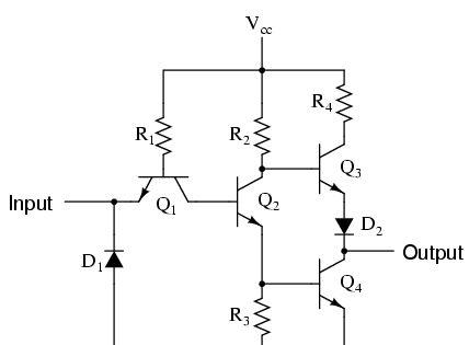 Image Result For Practical Inverter Not Gate Circuit Electronics Circuit Textbook Circuit Design
