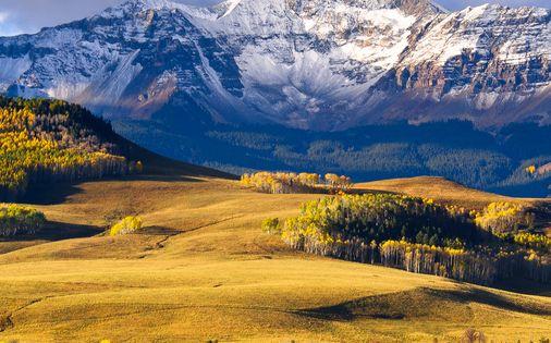 i love everything rocky mountains! Wilson Mesa, Telluride, Colorado; photo by Wayne