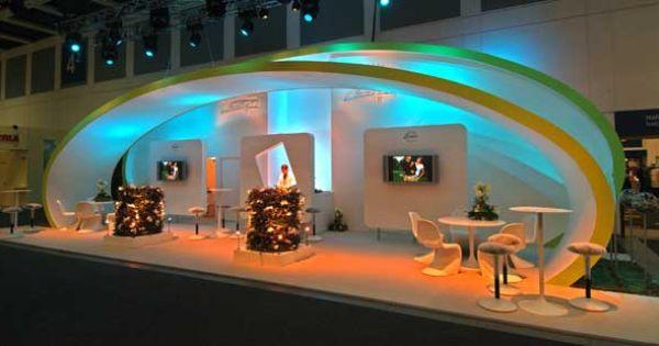 stretch fabric zespri kiwi booth showtex nv booth design trade show exhibition booth