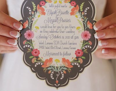 Fun Wedding Invitations - Creative Wedding Invitations | Wedding Planning, Ideas &