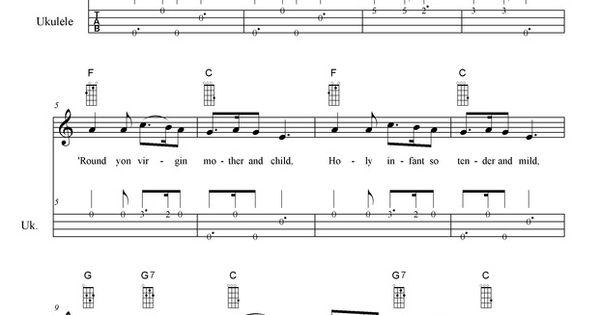 Silent Night easy fingerstyle for #uke #ukulele http://playukulelenow.weebly.com/blog/silent ...