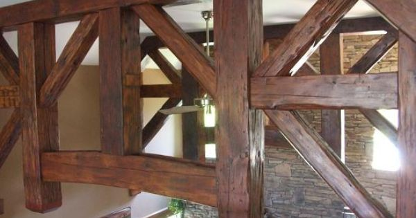 Decorative Wood Ceiling Beams Timber Trusses Post And
