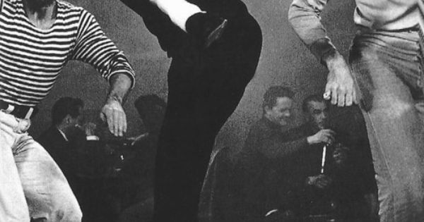 Audrey dancing in the film 'Funny Face.'