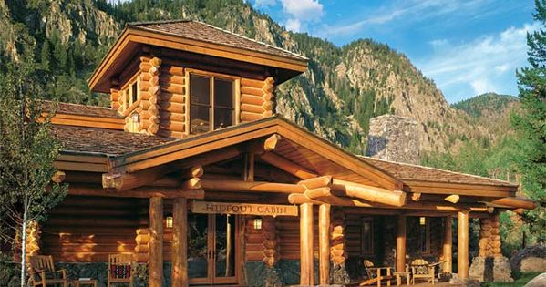affordable luxury for log homes
