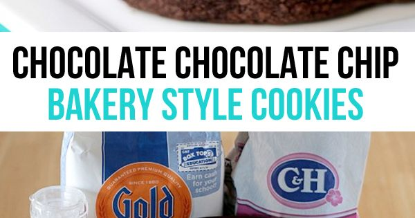 ... Bakery | Double Chocolate Chip Cookies, Chocolate Chip Cookies and