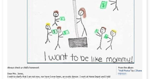 You should always check your kid's homework