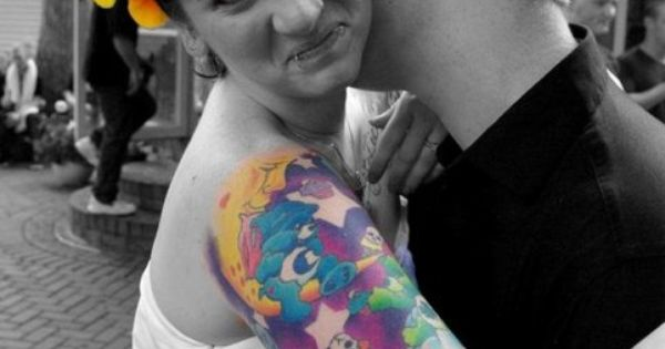 Another Care Bear half sleeve :D