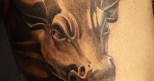 Wall Street Bull Tattoo  Antonio Macko Todisco Http