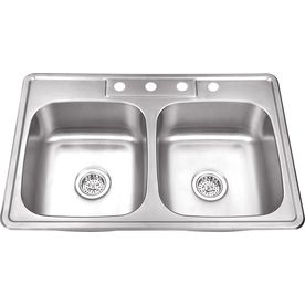 Shop Kitchen Sinks At Lowes Com Stainless Steel Double Bowl Kitchen Sink Stainless Steel Kitchen Sink Steel Kitchen Sink
