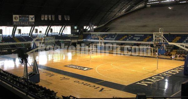 Ateneo Blue Eagle Gym Basketball Court Philippines Indoor Basketball Court Basketball Court Gym