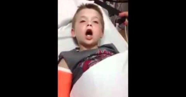 High on anesthesia! This one is really hilarious. Watch this precious footage