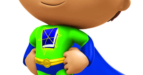 Alphabet Power Super Why *** FABRIC/T-SHIRT IRON ON TRANSFER 7 x 8