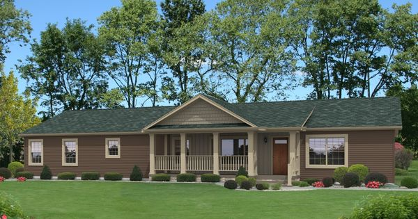 Savanna Ii Aw220a Aurora Classic Ranch Modular Built By Commodore Homes Of Indiana Green
