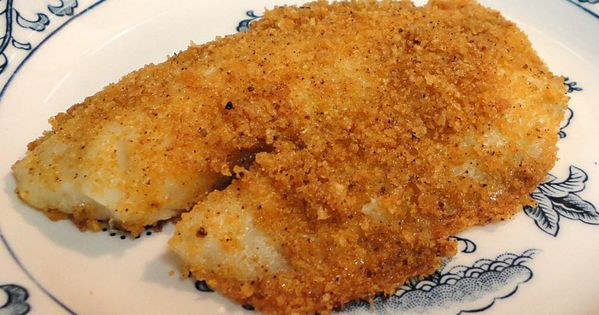 Linda 39 s low carb menus recipes linda 39 s low carb for Fried fish with bread crumbs