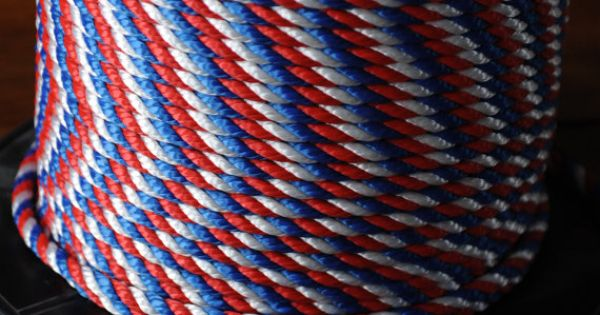 DIY Red White And Blue Rope Nautical Rope Nautical By OYKNOT 1000