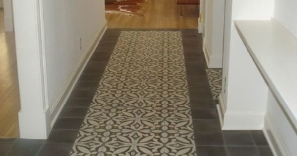 Cement Tiles Were Traditionally Designed To Create One Interlocking Design Using Four Tiles Each Tile Is Rotated 90 Degr Cement Tile Tiles Concrete Tile Floor
