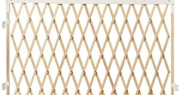 Munchkin Wide Spaces Expanding Gate Light Wood Http