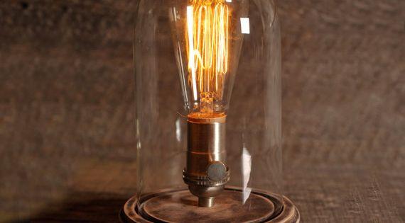 Original Bell Jar Table Lamp -night light for the kiddos