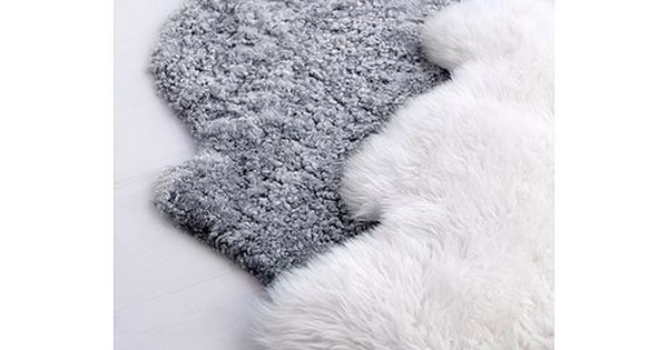 ludde peau de mouton ikea objets meubles deco pinterest wool un and grey. Black Bedroom Furniture Sets. Home Design Ideas