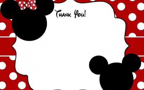 Minnie Mouse Head Invitation Template is amazing invitation layout