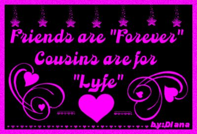 I Love You Quotes: I Love My Cousin Quotes. QuotesGram