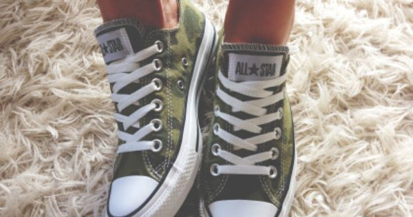 Camo Converse just yesYES