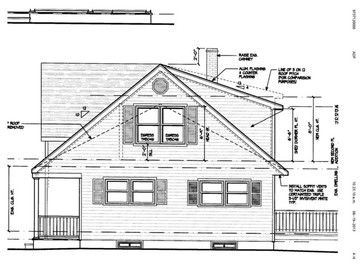 Working With Architect On A Second Level Addition And Need Some Advice Ita A A S A Bungalow X2f Ranch Type House T Gable Roof Design Gable House House Roof