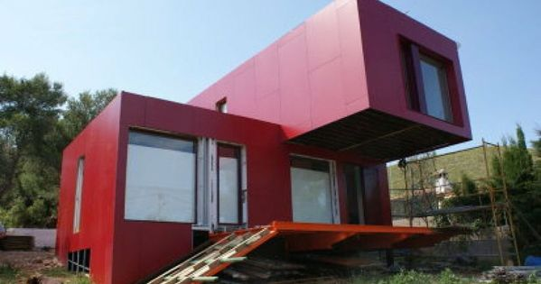 Construcciones sostenibles con contenedores mar timos - Casas prefabricadas sostenibles ...