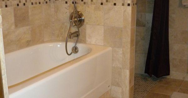 Standard Bathtub Raised Off The Floor One Foot To Help