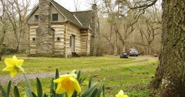 Artist Retreat Sugar Creek Log Cabin 23 Acres Stream