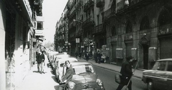 Barcelona 1969 calle princesa afb manuel framis - Calle princesa barcelona ...