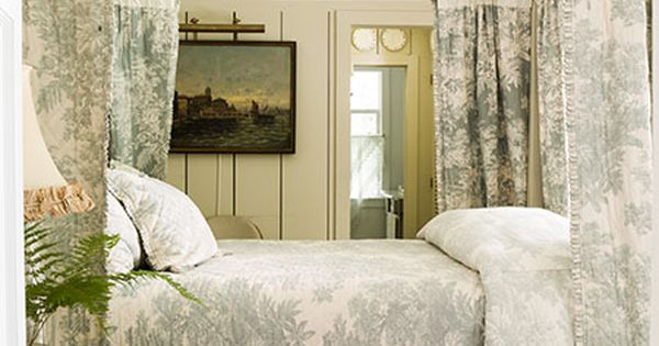Bedroom Decorating Ideas Totally Toile: Helen Norman Photography 212 Artists New York