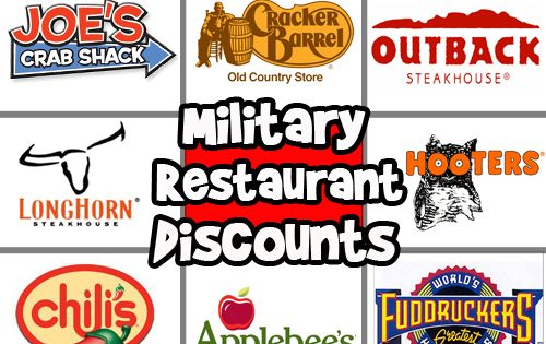 14 restaurant discounts to save veterans time money this for Restaurants that offer military discount