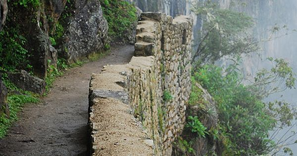 Camino del Inca -The Inca Trail, Cusco, Peru has 3 overlapping trails: