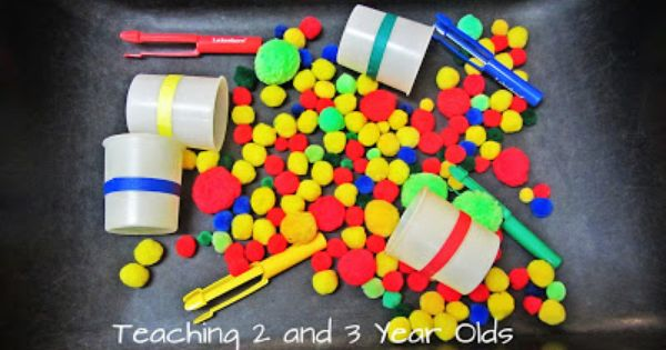 Teaching 2 And 3 Year Olds Preschool Classroom Setting