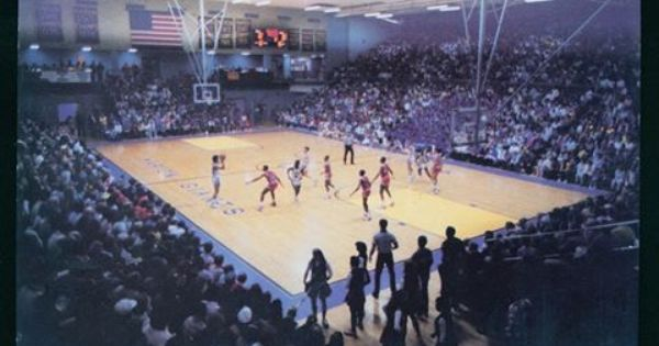 Bill Green Athletic Arena At Marion High School Opened In 1970 And