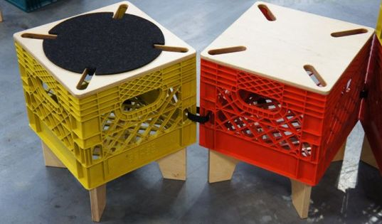 The xtool by combo collab re imagines the milk crate as for Re storage crate