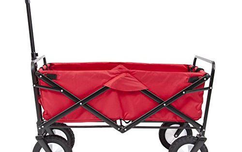 Ak Sport 0737005 Remorque Chariot Pliable Rouge A