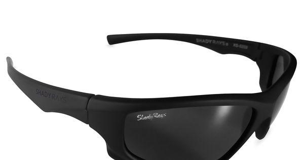 X Series Blackout Polarized Incognito Matte Black Wrap Sunglasses Blackout Sunglasses
