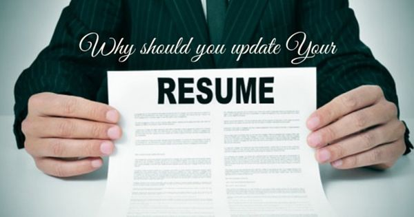 why update your resume Interview Tips Pinterest - update resume