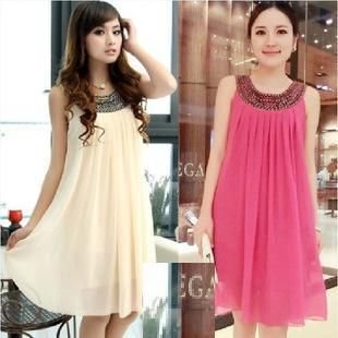 2021 Maternity Dresses Maternity Casual Dress Pregnant Women Clothes Chiffon Dress Maternity Clothes Womens Yarn Skirt Sling Beige From Swallow2014520 17 29 Maternity Dress Outfits Cheap Maternity Dresses Clothes For Pregnant Women