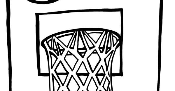 Awesome Printable Basketball Coloring Page Coolest