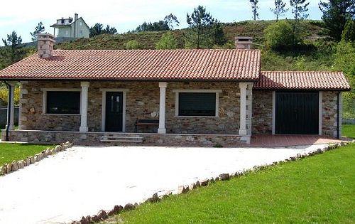 Chalets peque as casas rusticas de campo casa con - Casas de campo pequenas ...