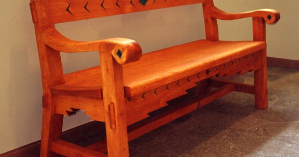 Sante Fe Style Bench Products I Love Pinterest Bench